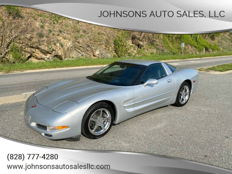 2002 Chevrolet Corvette for sale at Johnsons Auto Sales, LLC in Marshall NC