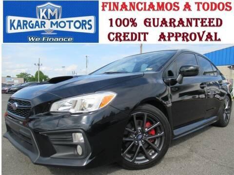 2018 Subaru WRX for sale at Kargar Motors of Manassas in Manassas VA