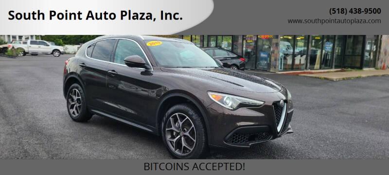 2019 Alfa Romeo Stelvio for sale at South Point Auto Plaza, Inc. in Albany NY