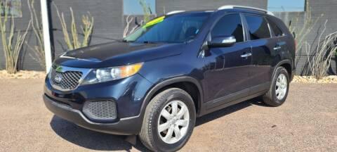 2012 Kia Sorento for sale at Fast Trac Auto Sales in Phoenix AZ