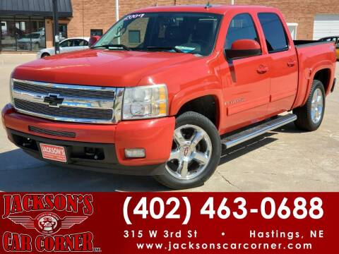 2009 Chevrolet Silverado 1500 for sale at Jacksons Car Corner Inc in Hastings NE