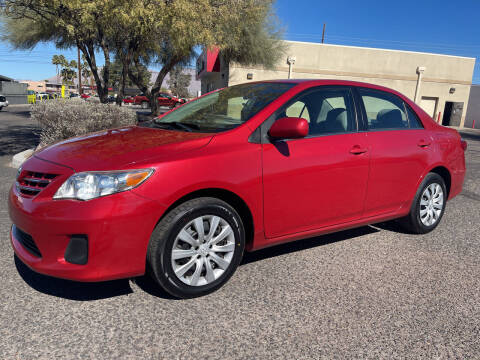 2013 Toyota Corolla for sale at Tucson Auto Sales in Tucson AZ