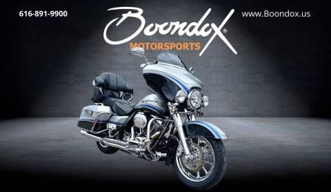 2009 Harley-Davidson CVO Ultra Classic for sale at Boondox Motorsports in Caledonia MI