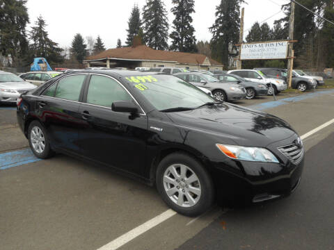 2007 Toyota Camry Hybrid for sale at Lino's Autos Inc in Vancouver WA