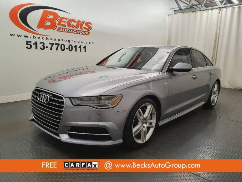 2016 Audi A6 for sale at Becks Auto Group in Mason OH