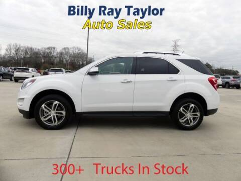 2017 Chevrolet Equinox for sale at Billy Ray Taylor Auto Sales in Cullman AL