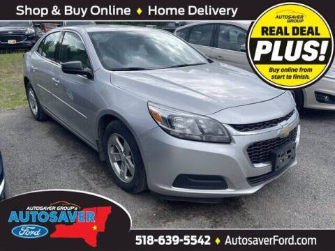 2015 Chevrolet Malibu for sale at Autosaver Ford in Comstock NY