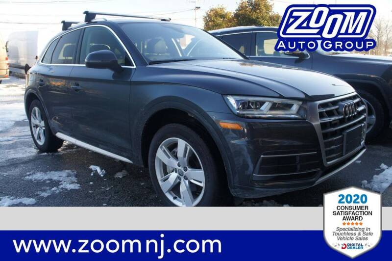2018 Audi Q5 for sale at Zoom Auto Group in Parsippany NJ