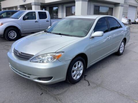 2002 Toyota Camry for sale at Beutler Auto Sales in Clearfield UT
