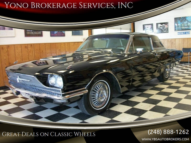 1966 Ford Thunderbird for sale at Yono Brokerage Services, INC in Farmington MI