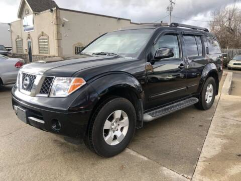 2005 Nissan Pathfinder for sale at AAA Auto Wholesale in Parma OH