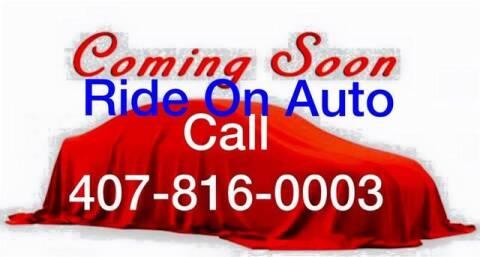 2012 Hyundai Elantra for sale at Ride On Auto in Orlando FL