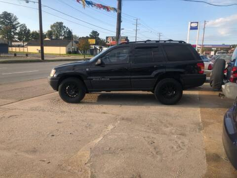 2004 Jeep Grand Cherokee for sale at AFFORDABLE USED CARS in Richmond VA