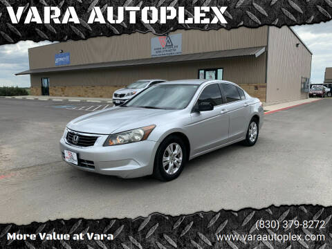 2009 Honda Accord for sale at VARA AUTOPLEX in Seguin TX