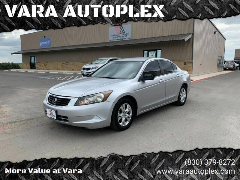 2009 Honda Accord for sale at VARA AUTOPLEX in Seguin TX
