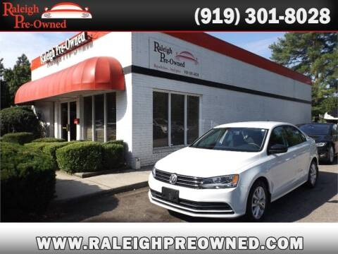 2015 Volkswagen Jetta for sale at Raleigh Pre-Owned in Raleigh NC