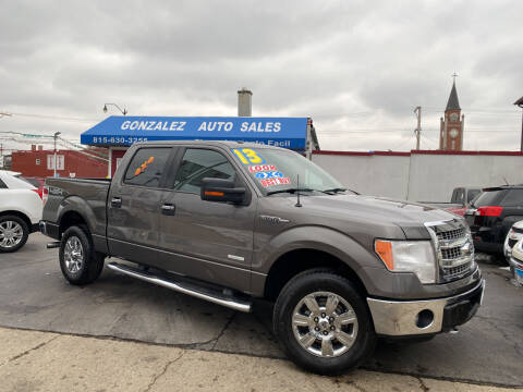 2013 Ford F-150 for sale at Gonzalez Auto Sales in Joliet IL