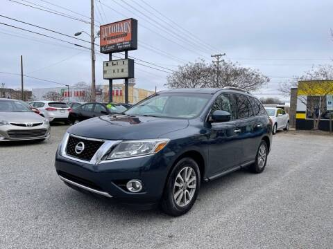 2015 Nissan Pathfinder for sale at Autohaus of Greensboro in Greensboro NC