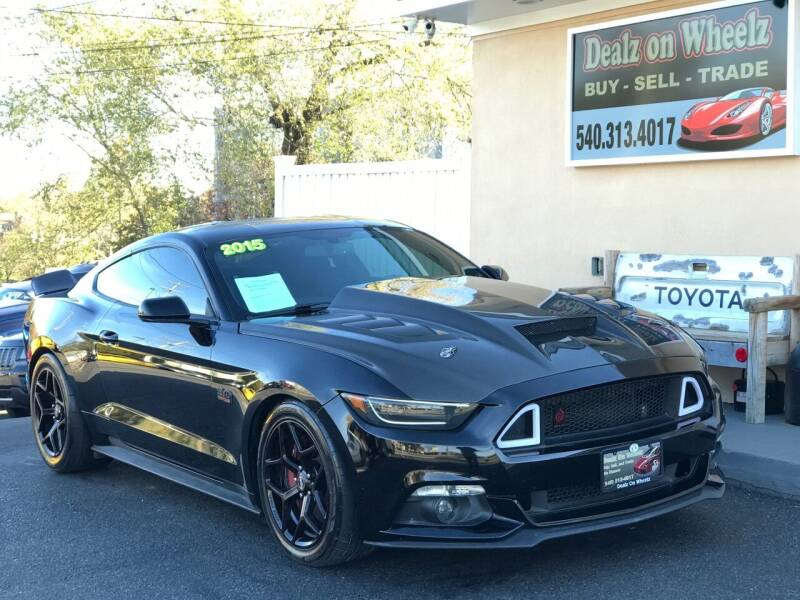 2015 Ford Mustang for sale at DEALZ ON WHEELZ in Winchester VA