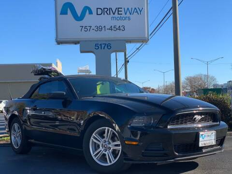 2014 Ford Mustang for sale at Driveway Motors in Virginia Beach VA