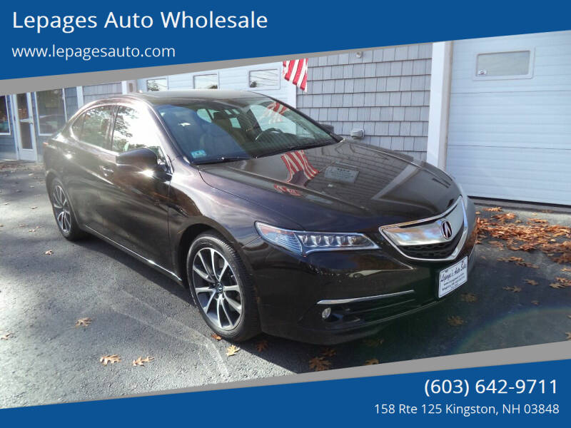2015 Acura TLX for sale at Lepages Auto Wholesale in Kingston NH