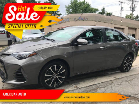 2017 Toyota Corolla for sale at AMERICAN AUTO in Milwaukee WI