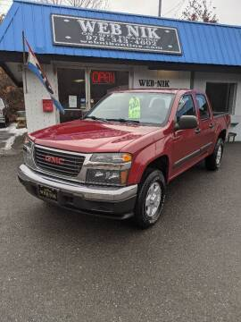 2006 GMC Canyon for sale at WEB NIK Motors in Fitchburg MA