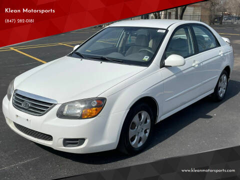 2009 Kia Spectra for sale at Klean Motorsports in Skokie IL