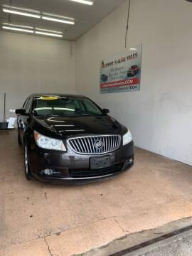 2013 Buick LaCrosse for sale at Antonio's Auto Sales - Antonio`s  3001 in Pasadena TX