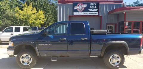 2005 Dodge Ram Pickup 2500 for sale at Stach Auto in Janesville WI