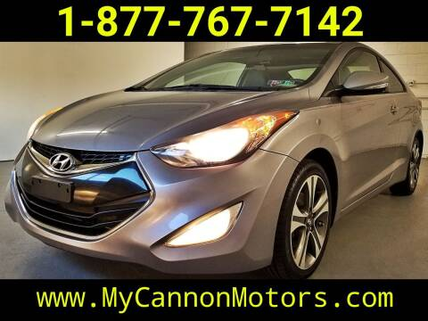 2013 Hyundai Elantra Coupe for sale at Cannon Motors in Silverdale PA