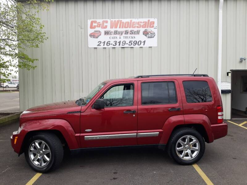 2012 Jeep Liberty for sale at C & C Wholesale in Cleveland OH