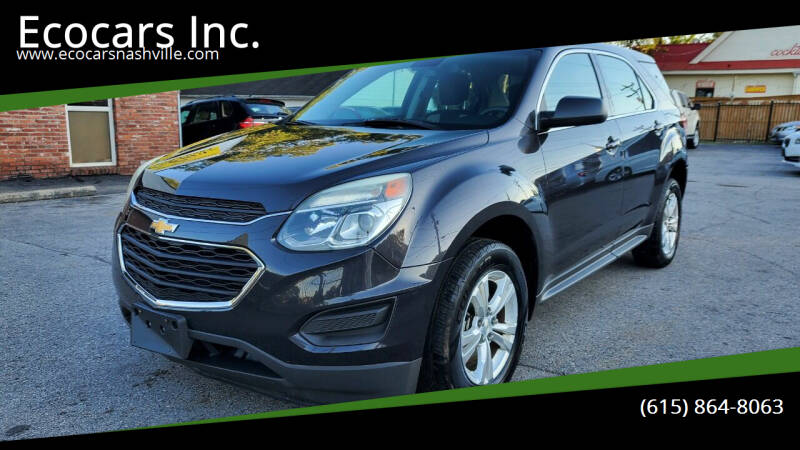 2016 Chevrolet Equinox for sale at Ecocars Inc. in Nashville TN