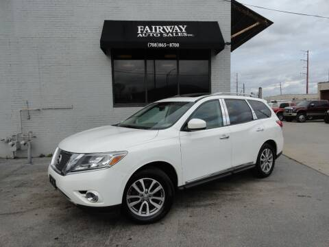2013 Nissan Pathfinder for sale at FAIRWAY AUTO SALES, INC. in Melrose Park IL
