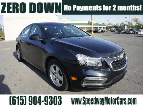 2016 Chevrolet Cruze Limited for sale at Speedway Motors in Murfreesboro TN