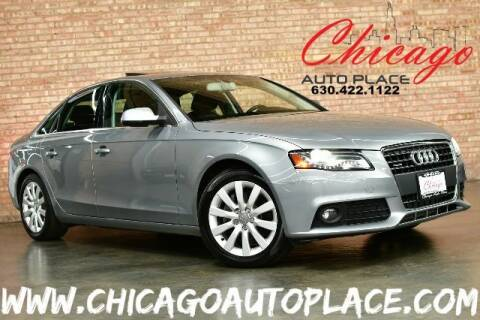 2011 Audi A4 for sale at Chicago Auto Place in Bensenville IL