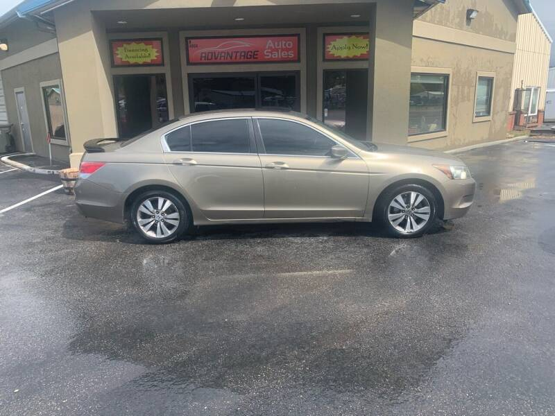 2009 Honda Accord for sale at Advantage Auto Sales in Garden City ID