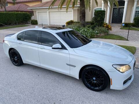 2014 BMW 7 Series for sale at Exceed Auto Brokers in Lighthouse Point FL