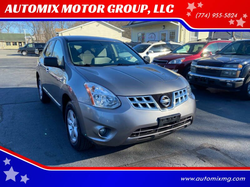 2012 Nissan Rogue for sale at AUTOMIX MOTOR GROUP, LLC in Swansea MA
