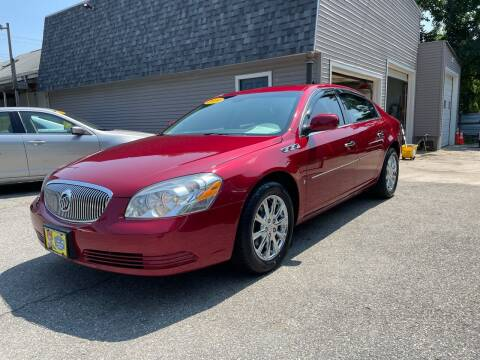 2009 Buick Lucerne for sale at JK & Sons Auto Sales in Westport MA