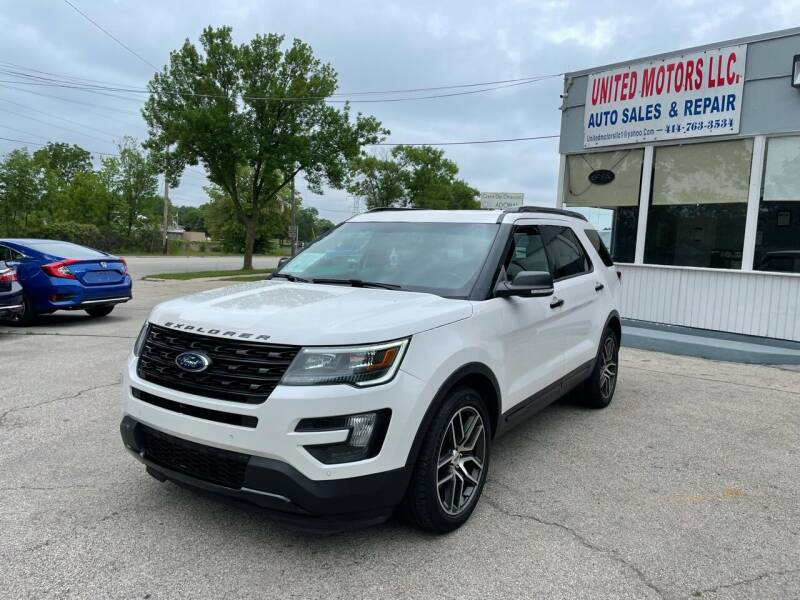 2016 Ford Explorer for sale at United Motors LLC in Saint Francis WI