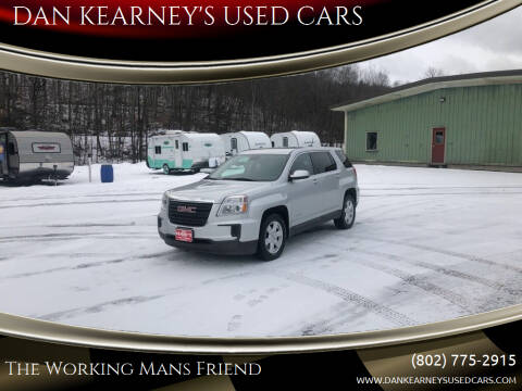 2016 GMC Terrain for sale at DAN KEARNEY'S USED CARS in Center Rutland VT