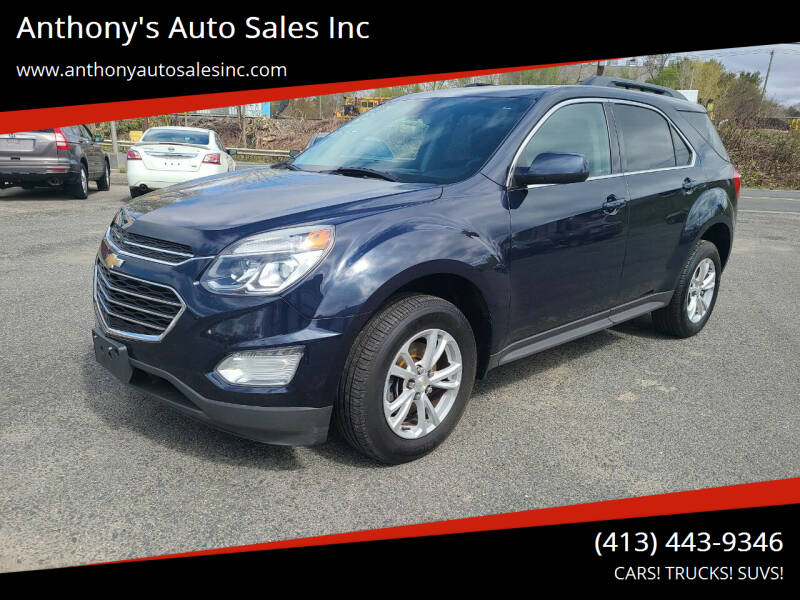 2016 Chevrolet Equinox for sale at Anthony's Auto Sales Inc in Pittsfield MA