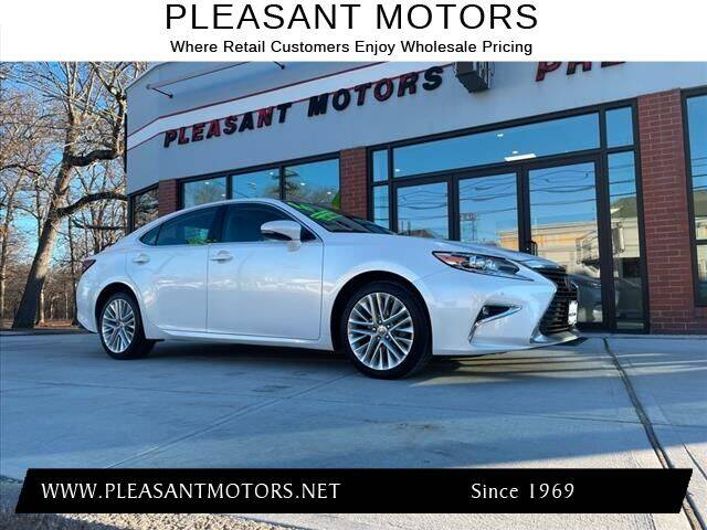 2016 Lexus ES 350 for sale at Pleasant Motors in New Bedford MA
