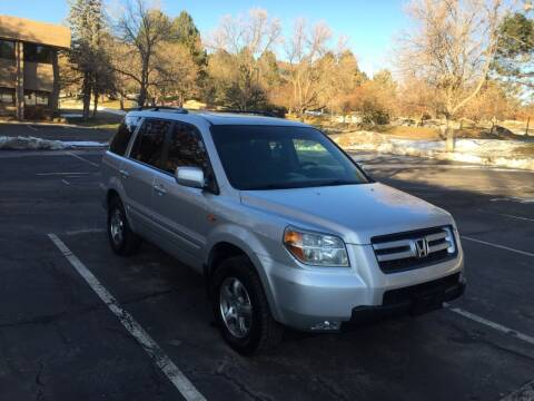 2008 Honda Pilot for sale at QUEST MOTORS in Englewood CO
