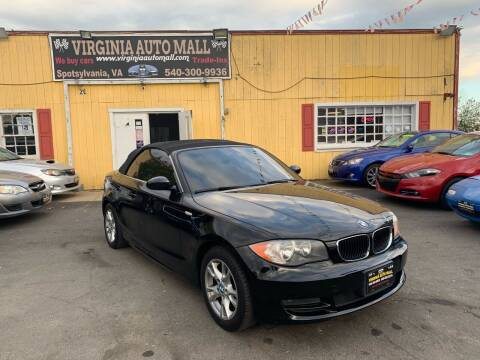 2009 BMW 1 Series for sale at Virginia Auto Mall in Woodford VA