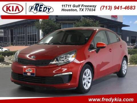 2017 Kia Rio for sale at FREDYS CARS FOR LESS in Houston TX
