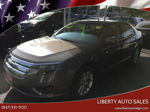 2012 Ford Fusion for sale at Liberty Auto Sales in Elgin IL