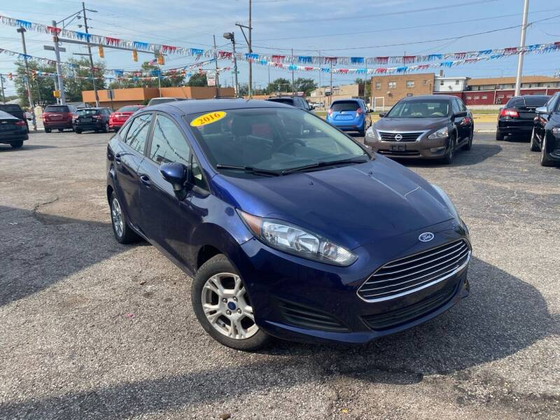 2016 Ford Fiesta for sale at Some Auto Sales in Hammond IN