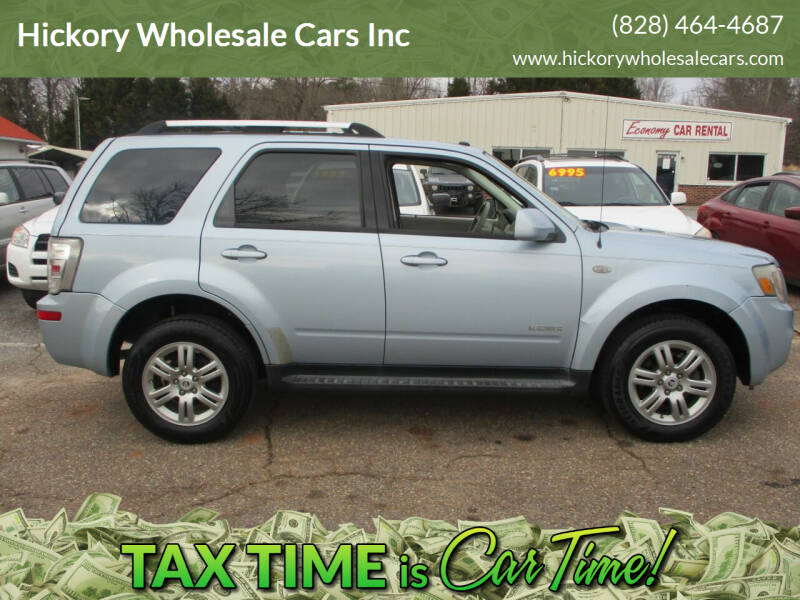 2008 Mercury Mariner for sale at Hickory Wholesale Cars Inc in Newton NC